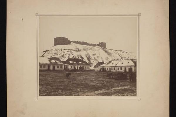 Теребовлянський замок на фото ХІХ століття