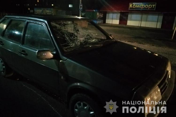 На Тернопільщині ДТП: водій збив жінку