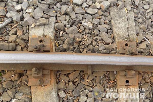На Тернопільщині двоє чоловіків регулярно обкрадали залізницю