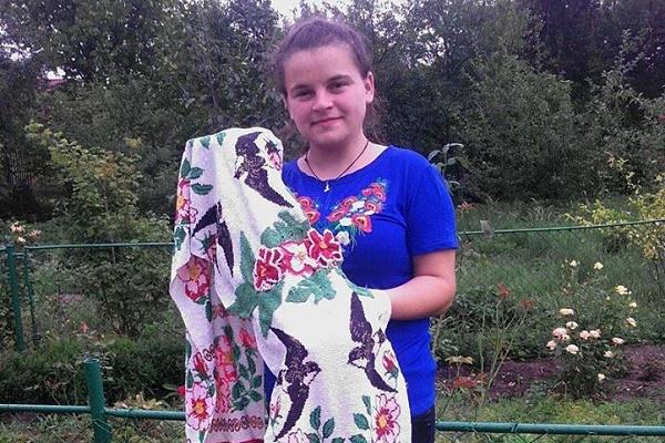 Вишиваний рушник тернополянки потрапив у Книгу рекордів України