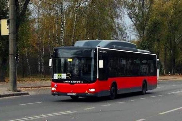 У Тернополі на маршрут №35 додано ще два великі низькопідлогові автобуси