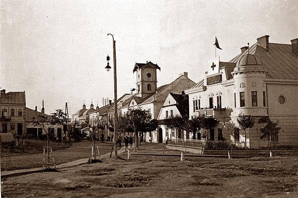 Підгайці на фото 1915 року
