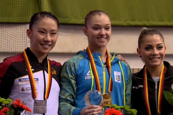 Тернопільська гімнастка завоювала ще одну медаль
