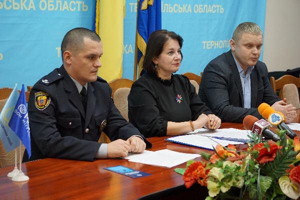 «16 днів проти насильства»: на Тернопільщині стартувала Всеукраїнська акція