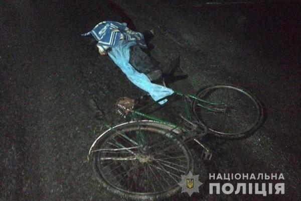 В Ігровиці невідомий водій збив велосипедиста і втік