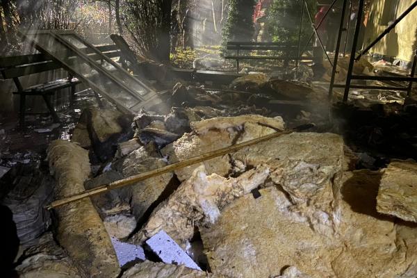 Пожежа знищила відділення Тернопільської міської комунальної лікарні