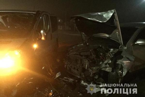 У Білій поблизу Тернополя зіткнулись дві іномарки. Є постраждалі