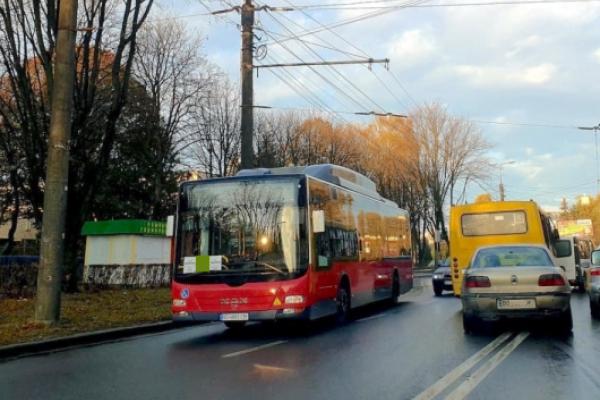 У Тернополі змінили маршрут автобусів