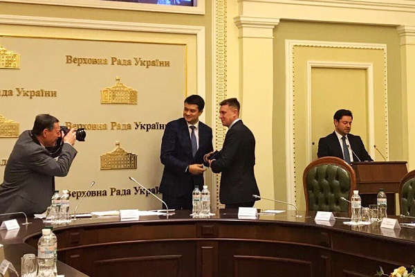 Тернопільського депутата Володимира Болєщука нагородила Верховна Рада