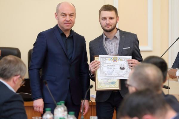 Тернополянам вручили премію імені Володимира Лучаківського