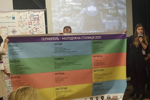 «Тернопіль – молодіжна столиця України 2020». Дієві жінки долучились до привітань