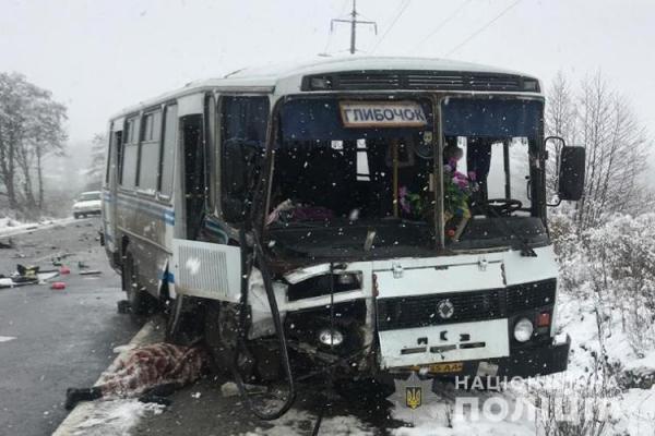 На Тернопільщині рейсовий автобус потрапив у ДТП