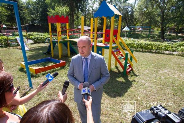 За 2019 рік у тернопільських дворах встановили 65 дитячих майданчиків
