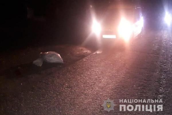 На Тернопільщині п'яний водій збив нетверезого пішохода