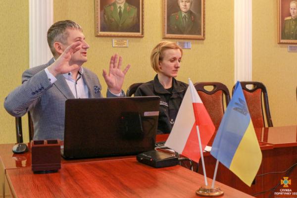 До тернопільських рятувальників завітали колеги з Польщі (Фото)