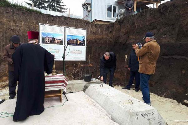 На Тернопільщині   будують новий  корпус для реабілітації військових
