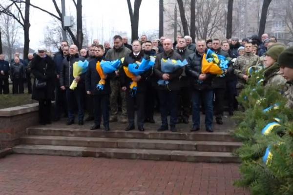 Мітинг-реквієм з нагоди Дня вшанування учасників ліквідації аварії на ЧАЕС у Тернополі (Наживо)