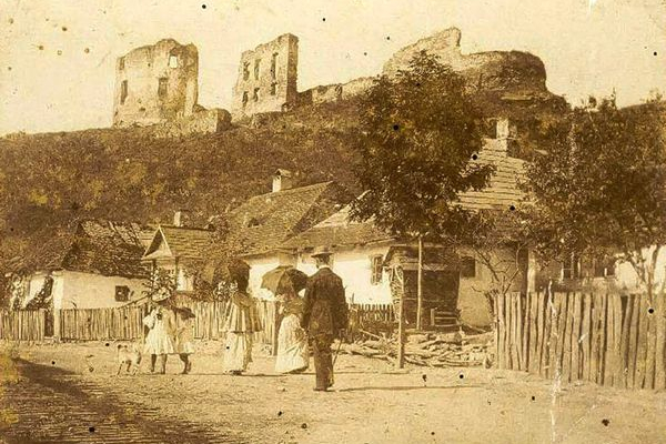 Бучач на фото ХІХ століття