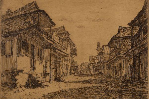Місто Кременець на ретро картинах