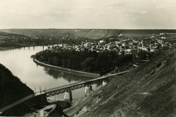 Панорами Заліщиків 1930-х років