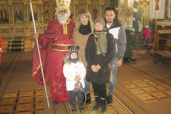 Святий Миколай завітав до Теребовлянської ПЦУ Св. Володимира