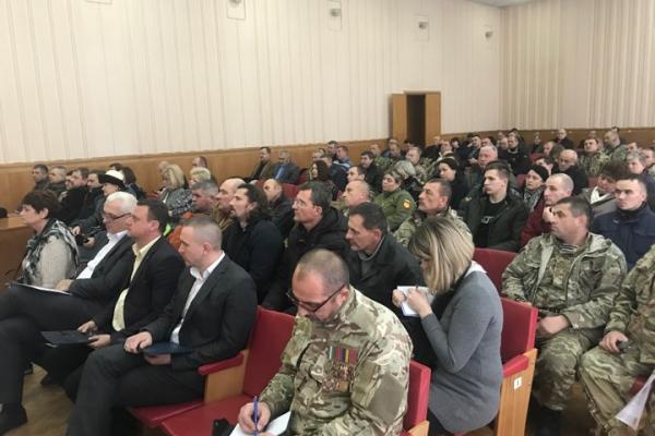 Тернопіль: відбулись збори АТОвців