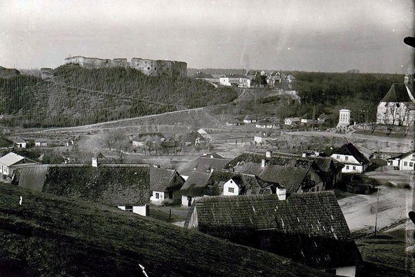 Язловець на Тернопільщині на ретро фото
