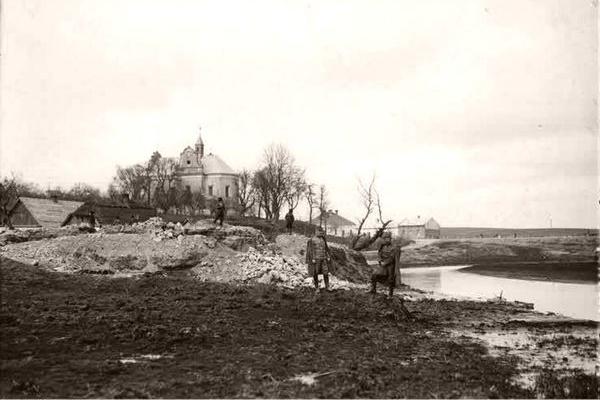 Зборів на столітніх фото