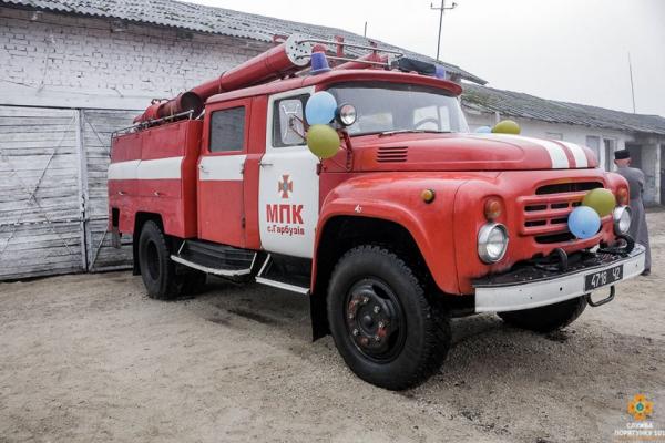 Тернопільщина: створили ще одну пожежну станцію