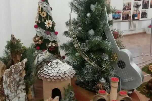 «Українське Різдво»: у Тернополі відкрили виставку