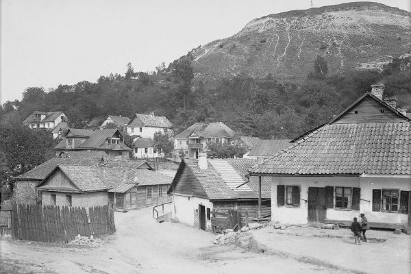Гора Черча в Кременці на фото 1930-х років