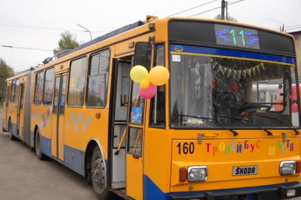 Тернопіль: у Новорічну ніч курсуватимуть міські автобуси та тролейбуси