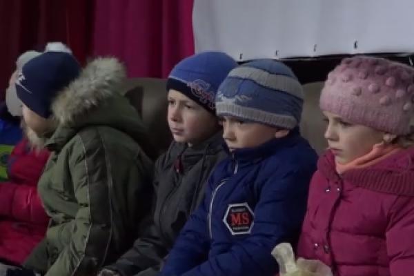 «Щедрий дарунок»: у Тернополі дітям з малозабезпечених сімей влаштували свято (Відео)