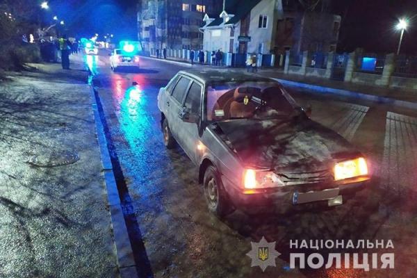На Тернопільщині на смерть збили пішохода