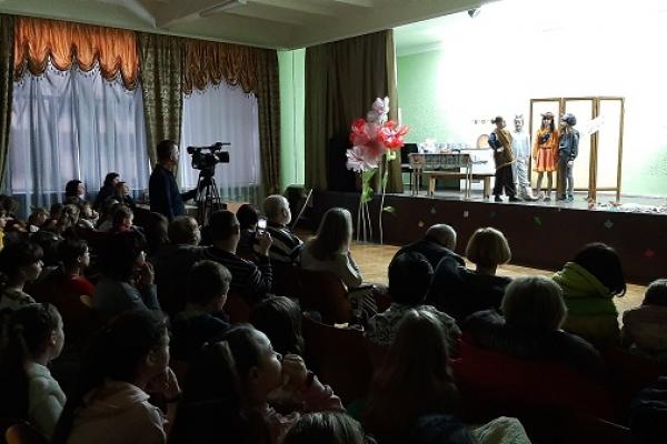 Казку тернопільських авторів відтворили на сцені Школи мистецтв