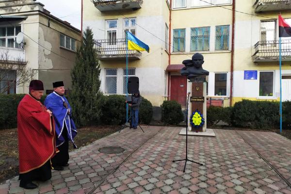У Бережанах вшанували пам'ять Степана Бандери у день його народження
