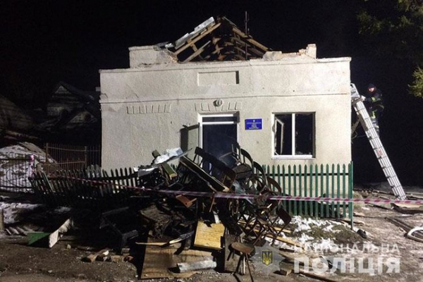 Поліцейські розповіли про вибух в сільському клубі, де постраждали 8 дітей