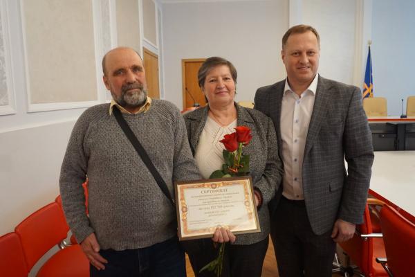 Тернопіль: ветерану АТО вручили сертифікат на квартиру