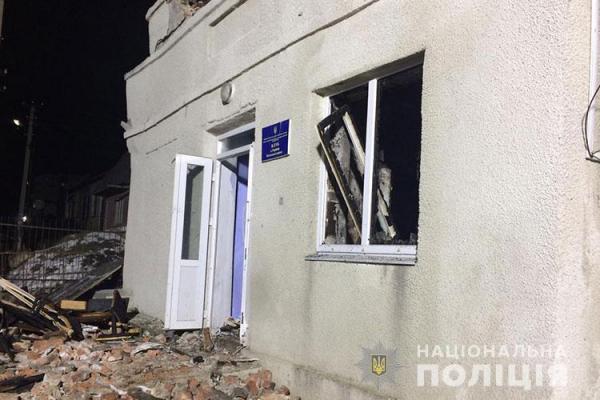 «Позбавлення волі до восьми років»: на Тернопільщині розшукують винуватців вибуху у сільському клубі