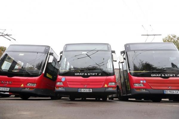 Тернопіль отримає ще 15 сучасних великих автобусів