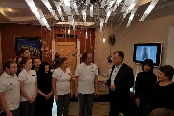 Клініка стоматології родини Прощин нагороджена сертифікатом «Життя в стилі ЕСО»