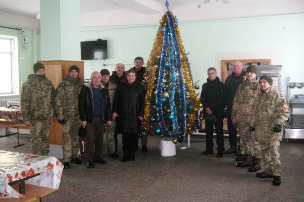 Волонтери Теребовлянщини провели благодійну акцію на користь військовослужбовцям 44-ї окремої артилерійської бригади