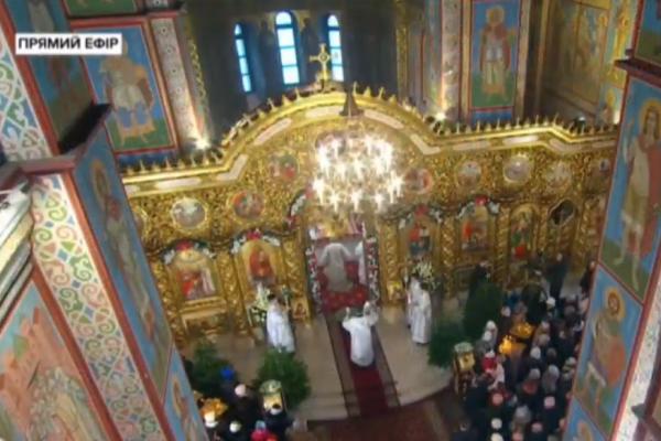 Святкове Богослужіння з Михайлівського золотоверхого собору (Наживо)