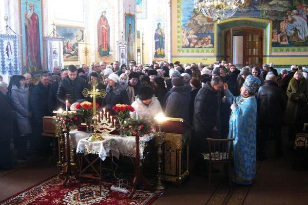 Собор Пресвятої Богородиці в Теребовлянській ПЦУ Св. рівноапостольного князя Володимира