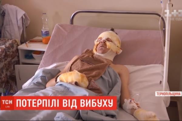 Починають потрохи сідати, їсти та говорити: медики про стан постраждалих від вибуху хлопців (Відео)