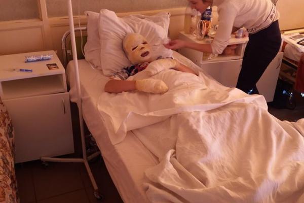 Тернопільщина: збирають кошти на лікування дітей, які постраждали під час вибуху