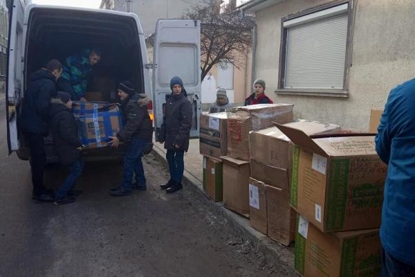 Тернопіль: для дітей військовослужбовців передали подарунки з української Діаспори світу