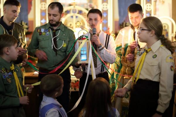«Різдвяна Свічечка»: тернопільські пластуни провели сімейне свято