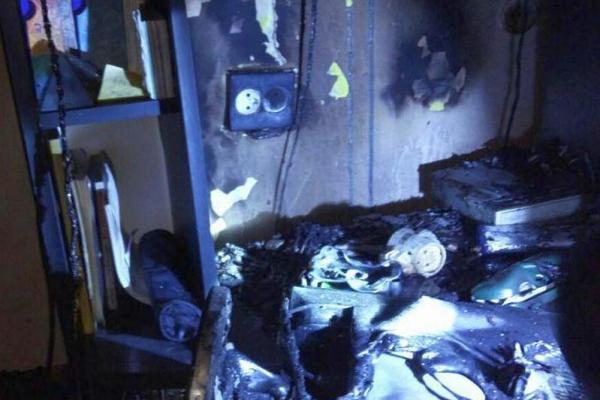 Тернопіль: через необережне поводження з вогнем майже не загинула людина