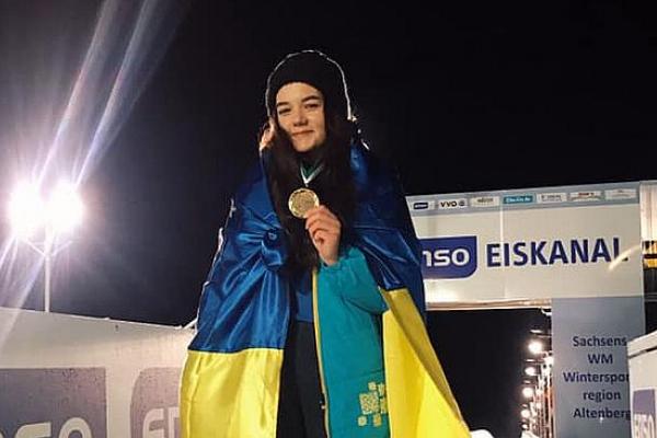 Спортсменка з Тернопільщини виборола золоту медаль Кубка світу з санного спорту